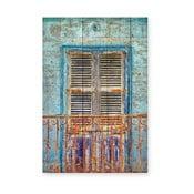 Tabliczka drewniana Really Nice Things Balcony, 40x60cm