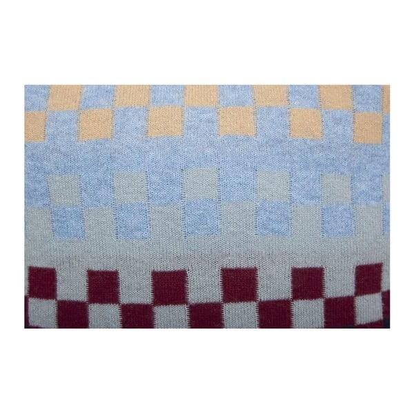 Wełniana poduszka Domino
