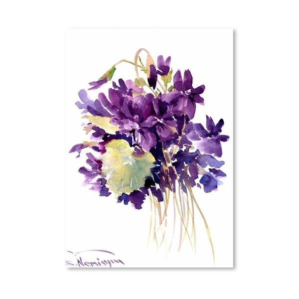 Plakat Wild Violets (projekt Suren Nersisyan)