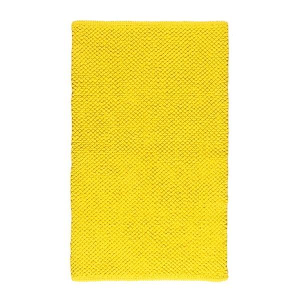 Dywanik łazienkowy Dotts Yellow, 60x100 cm
