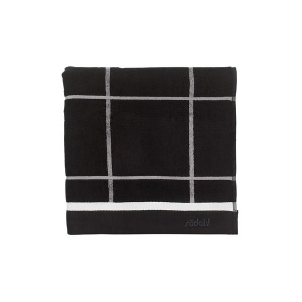 Ręcznik Steward Black, 70x140 cm