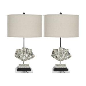 Zestaw 2 lamp stołowych Penelope