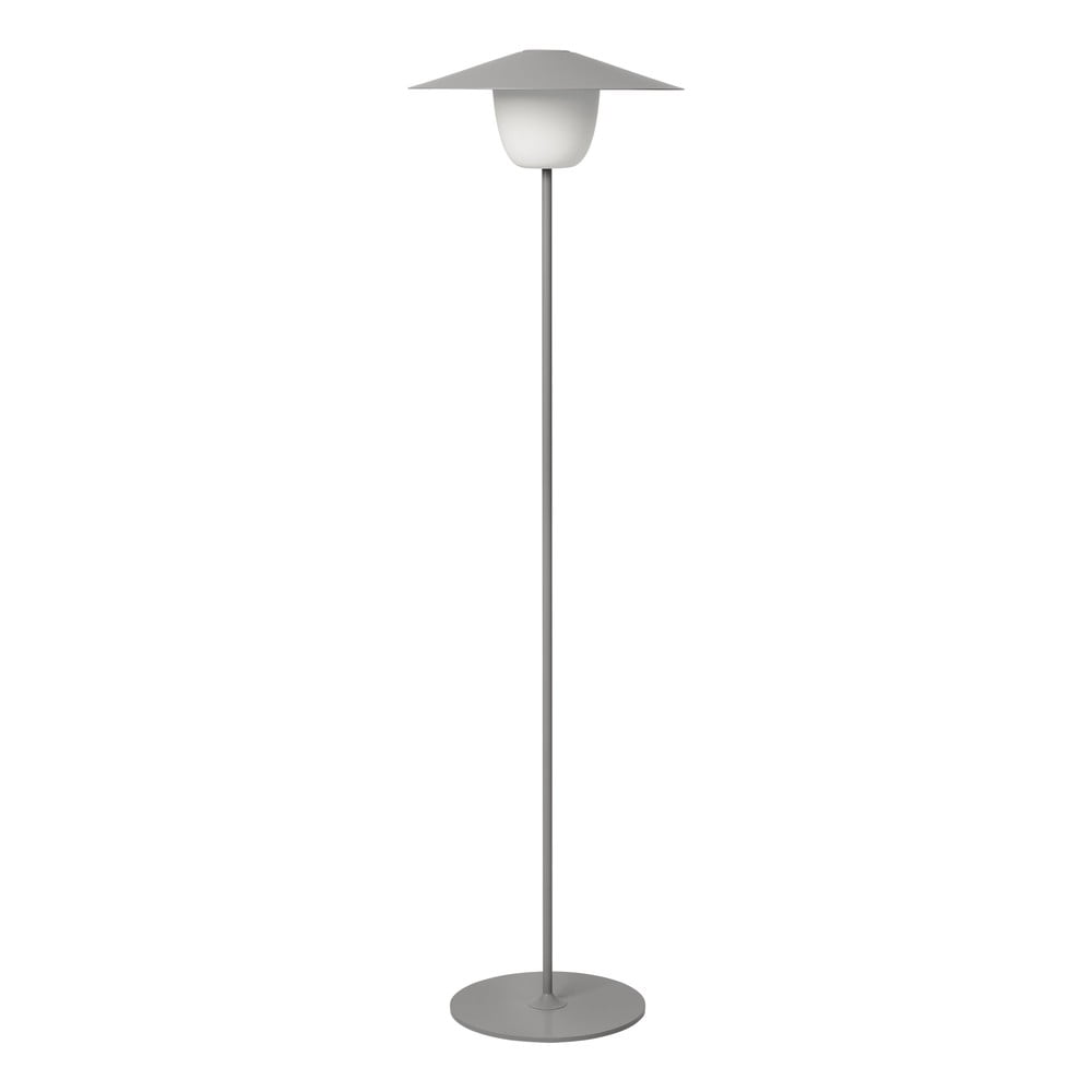 Szara wysoka lampa led Blomus Ani Lamp
