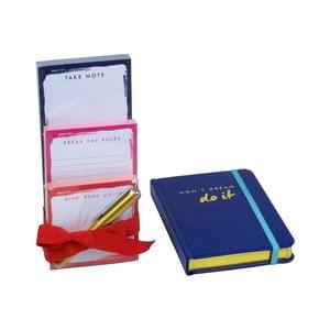 Zestaw notesów i bloczków z długopisem Do It