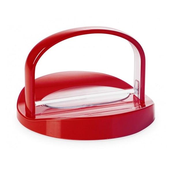 Czerwony serwetnik