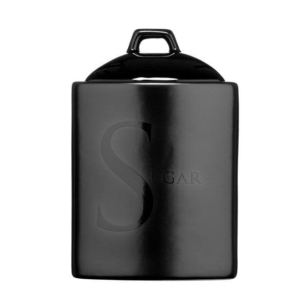 Czarny pojemnik na cukier Premier Housewares
