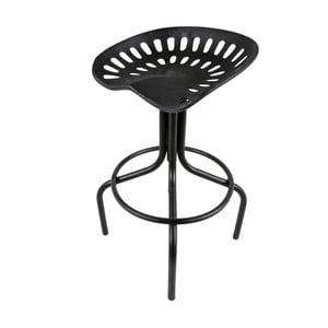 Czarny stołek Canett Bronz