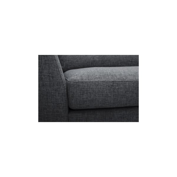 Antracytowa sofa Vivonita Monroe