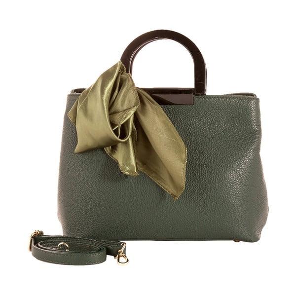 Zielona torebka skórzana Andrea Cardone Angelo