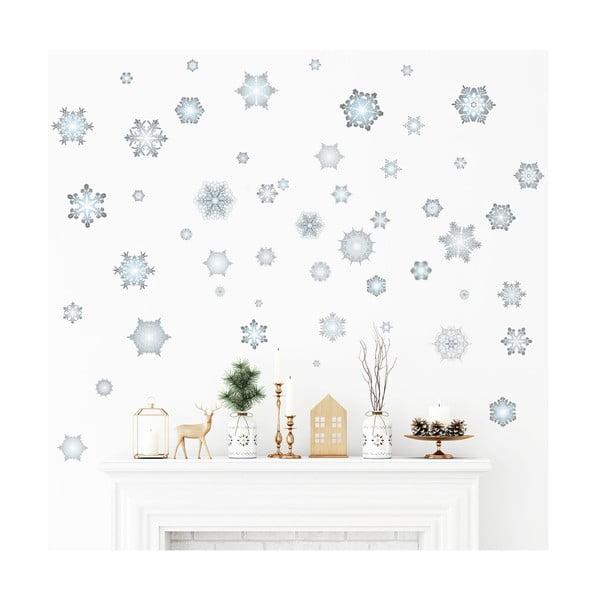 Naklejka świąteczna Ambiance Snowflakes