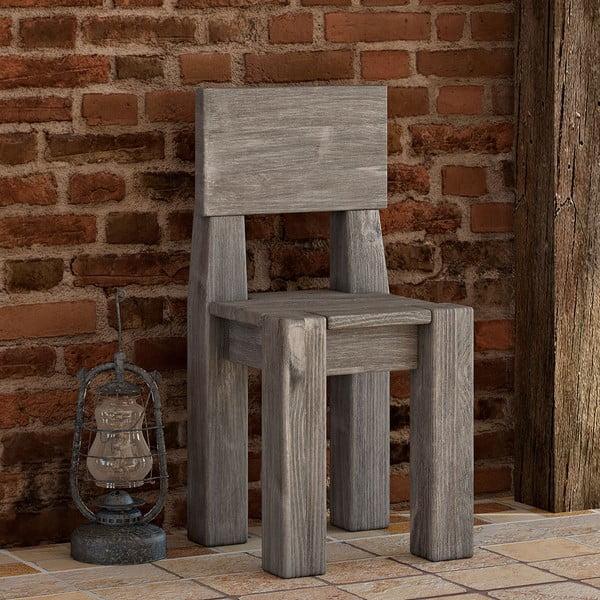 Krzesło Seart z litej sosny