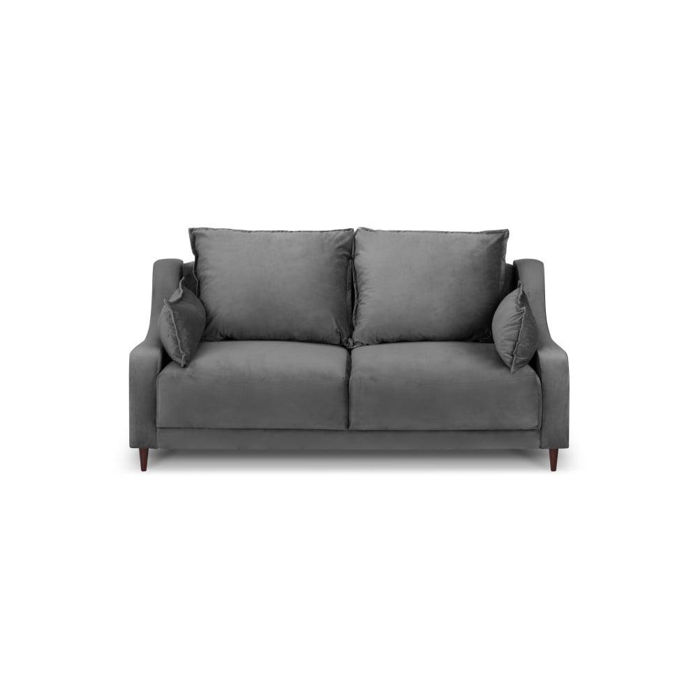 Szara sofa 2-osobowa Mazzini Sofas Freesia
