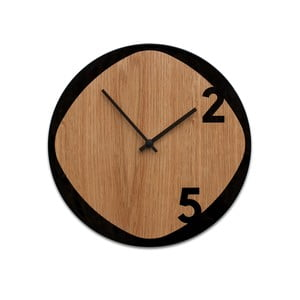 Zegar Clock25 Wood&Black
