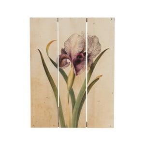 Drewniany obraz Dijk Natural Collections Orchid, 19x25 cm