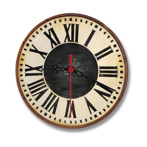 Zegar ścienny Chalk Rome, 30 cm
