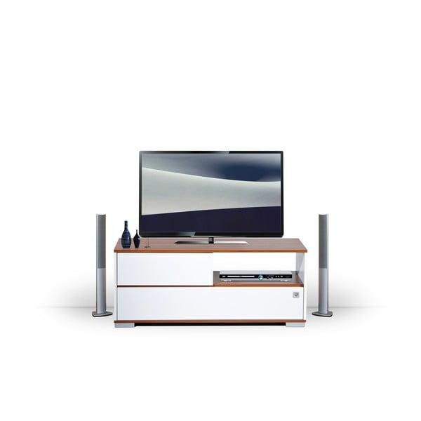 Stolik telewizyjny Mega biały/milas