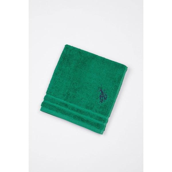 Dywanik łazienkowy U.S. Polo Assn. Green, 60x90 cm