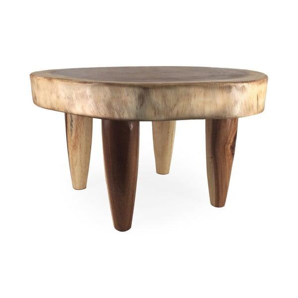 Stolik z drewna suar Moycor Trunk, wys. 40 cm