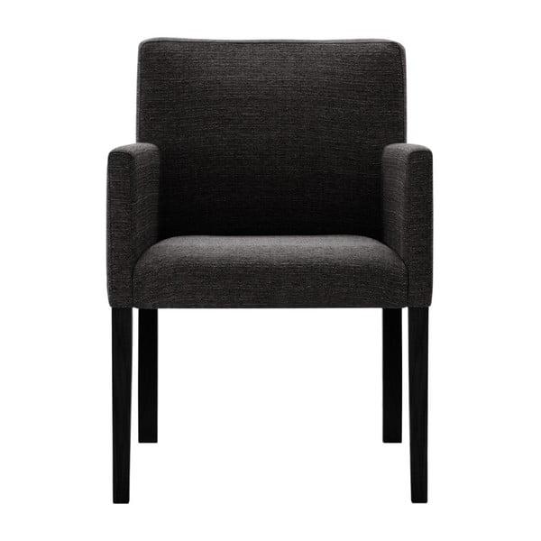 Antracytowe krzesło Corinne Cobson Escape