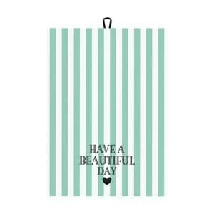 Ścierka kuchenna Miss Étoile Have A Beautiful Day, 50x70 cm