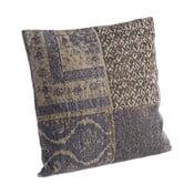 Poduszka z wypełnieniem Twist Blue, 50x50 cm