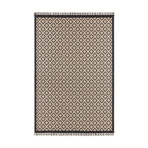Beżowo-czarny dywan Hanse Home Intense Muro, 80x150 cm
