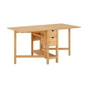 Stół rozkładany z drewna sosnowego Støraa Leon