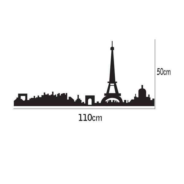 Naklejka dekoracyjna Paris, 50x110 cm