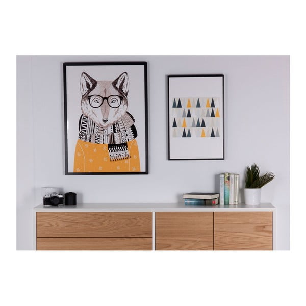 Obraz sømcasa Wolf, 60x80 cm