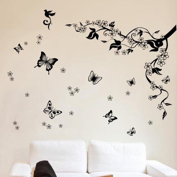 Naklejka na ścianę Walplus Motyle