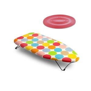 Zestaw deski do prasowania i podkładki Mini Dots