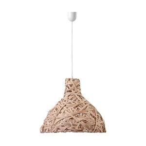 Lampa wisząca Bulb, 48 cm, brązowa