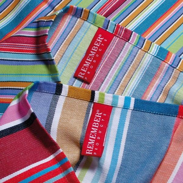 Zestaw 2 ścierek Remember Purple Stripes, 70x50cm