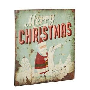Tablica Merry Chrismas, 30x30 cm