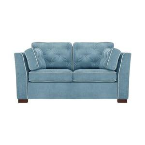 Niebieska sofa 2-osobowa Florenzzi Frontini
