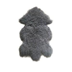 Szary, wełniany dywan z owczej skóry Auskin Ursell, 60x80 cm