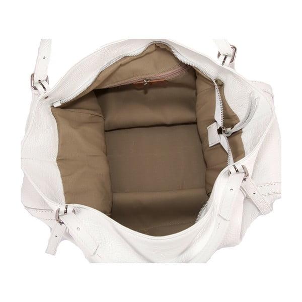 Biała torebka skórzana Andrea Cardon Luca