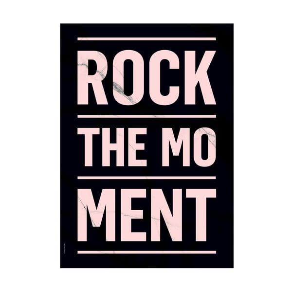 Plakat autorski Rock The Moment, A3