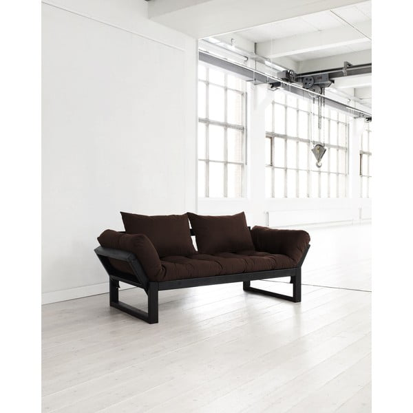 Sofa Karup Edge Black/Brown