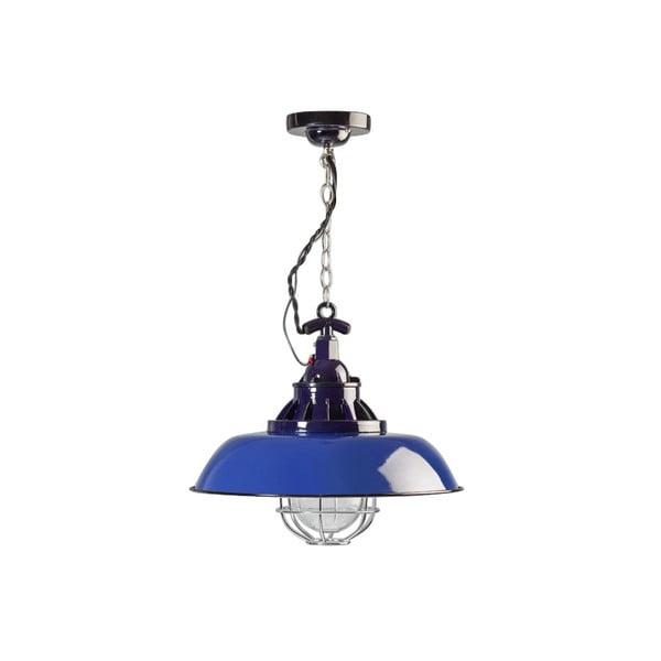 Niebieska lampa wisząca ETH Consenza