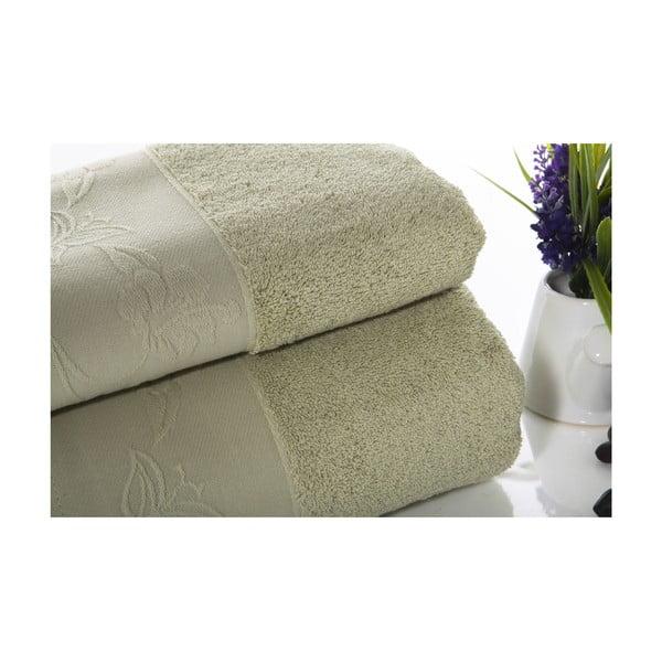 Zestaw 2 ręczników Pretty V4, 50x90 cm + 70x140 cm