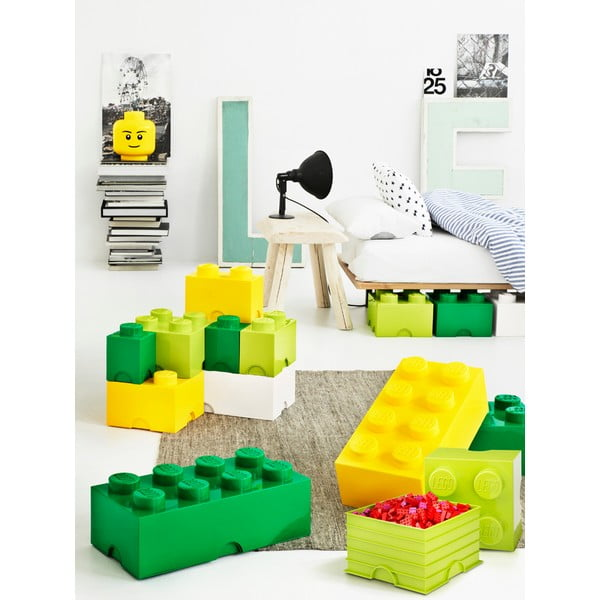 Biały kwadratowy pojemnik LEGO®