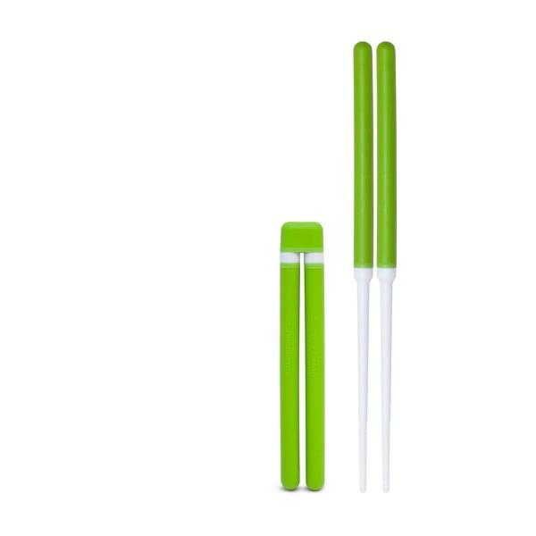 Zielone pałeczki chińskie do sushi Monbento