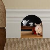 Naklejka Ambiance Mouse hole for tea