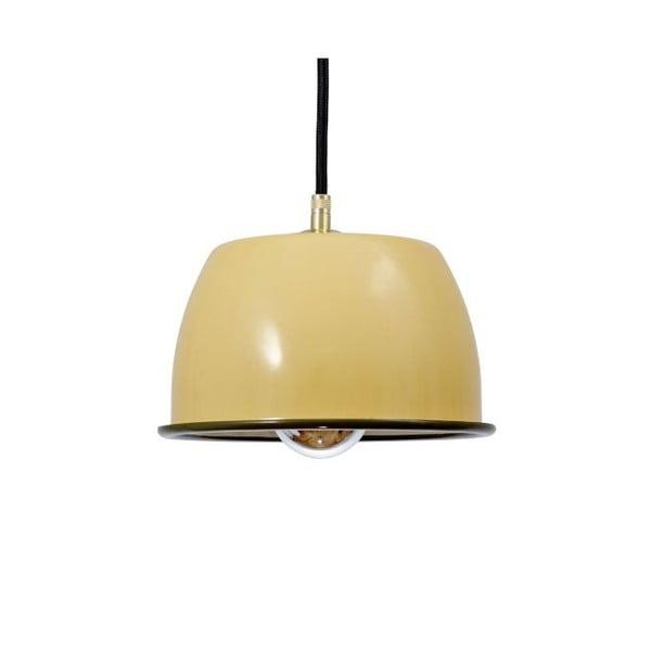 Lampa sufitowa Emailleleuchte 05 Yellow/Black