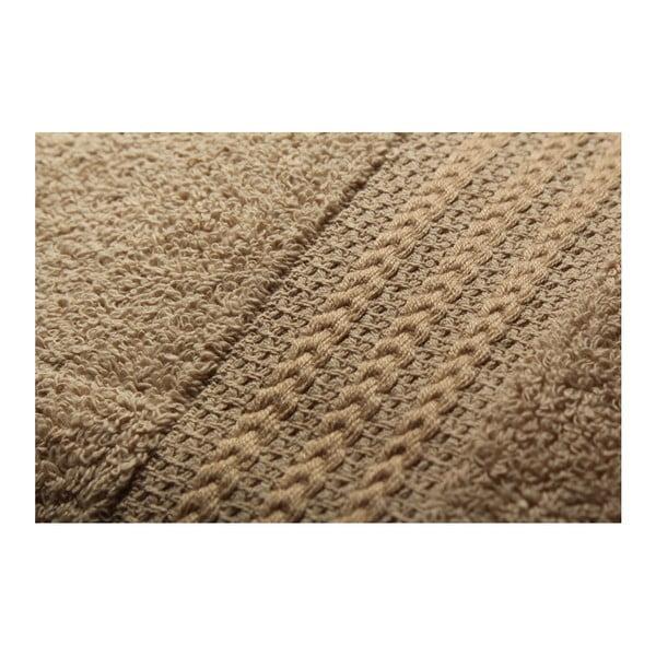 Zestaw 4 brązowych ręczników Rainbow, 70x140 cm
