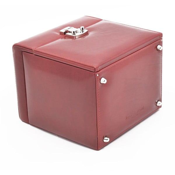 Skórzany kuferek Ferruccio Laconi Red