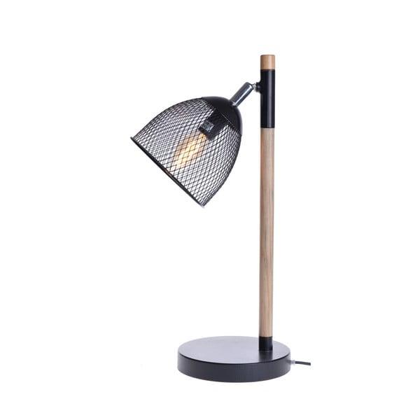 Lampa stołowa Wire, czarna