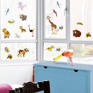 Naklejka na okno Zwierzątka