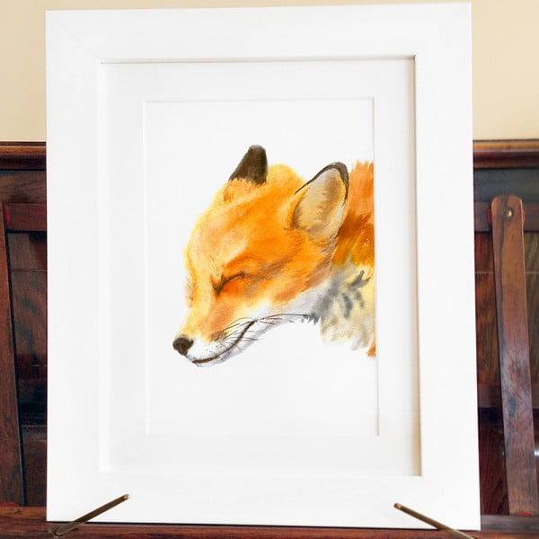 Plakat Mama Fox A3